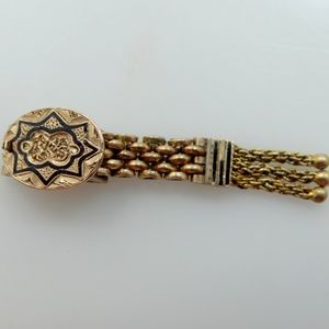 Jewelry - Victorian Enamel Gold Clasp